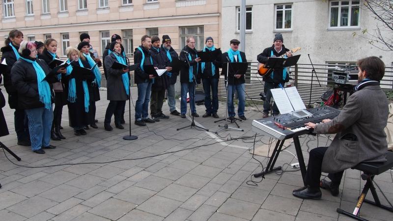 Performance at the Fasanmarkt 2013