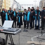 The VIGC performs at the Fasanmarkt in November 2013
